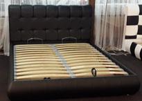 Кровати с мягким изголовьем   от производителя фото