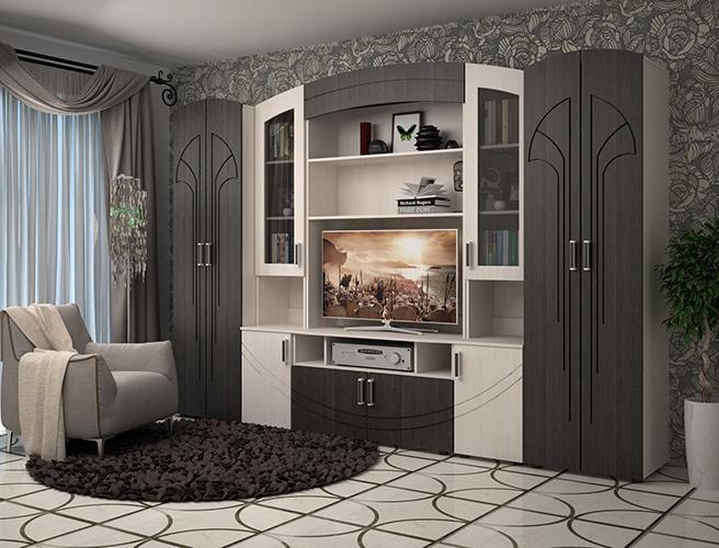 стенки в гостиную купить недорого в фм мебель спб